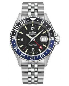 DELMA - Santiago GMT Ø 43 mm, black