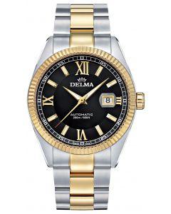 DELMA - Sea Star Automatic Ø 43 mm, bicolor black