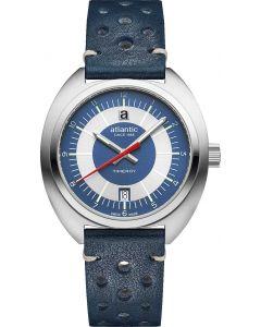 """Atlantic - Herrenuhr """"Timeroy"""" blau oder schwarz, Ø 42 mm"""