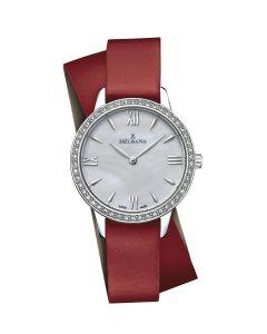 Le Temps of Switzerland, ladies watch slim, Swarovski Ø 34 mm