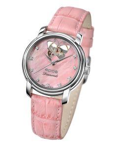 EPOS LADIES 4314OH Diamonds - rosa, Ø 32 mm