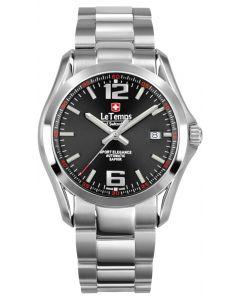 "Le Temps of Switzerland ""Sport Elegance Automatic"" - Ø 40,5 mm"